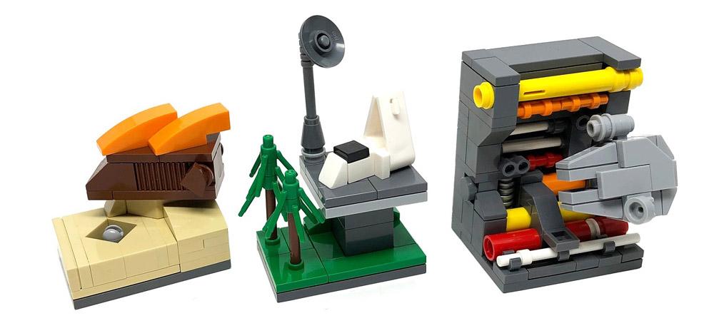 In A Tiny Galaxy Far, Far Away - Microscale Lego Star Wars, Episode VI - Return Of The Jedi