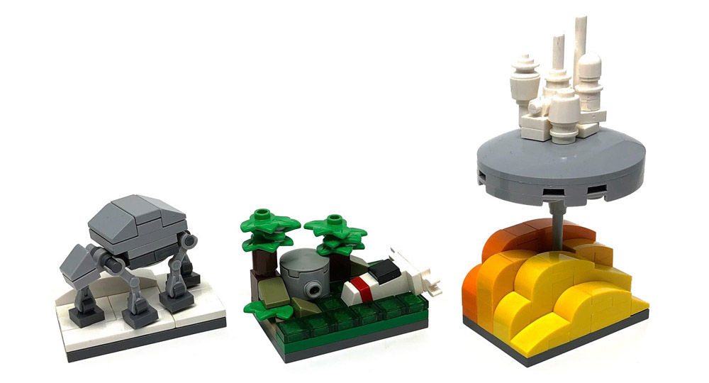 In A Tiny Galaxy Far, Far Away - Microscale Lego Star Wars, Episode V - The Empire Strikes Back