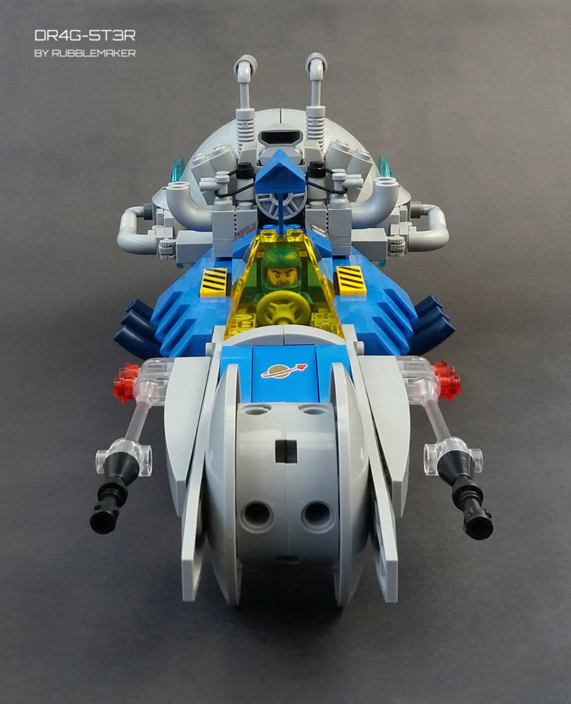 Space Drag Racing Lego Dragster