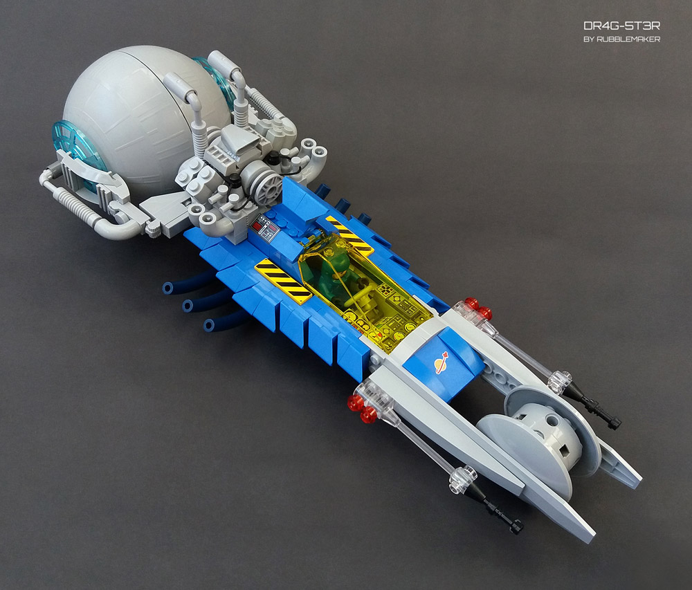 Space Drag Racing With The Lego DR4G-5T3R