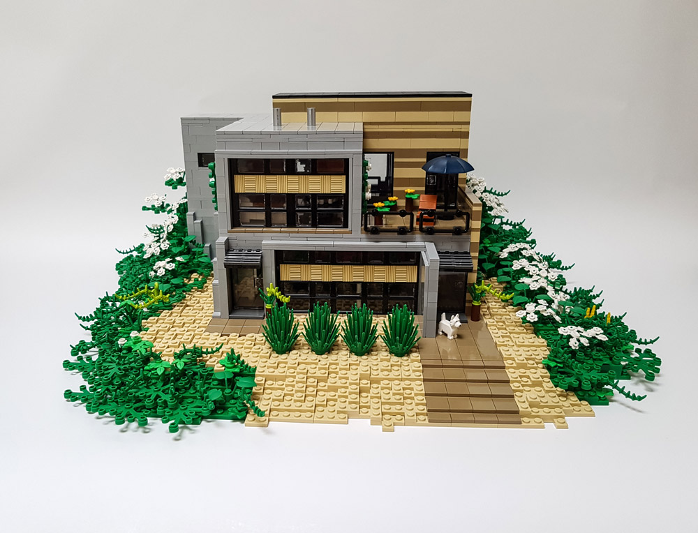 The Daisy Hill House - Exterior Update - Lego MOC