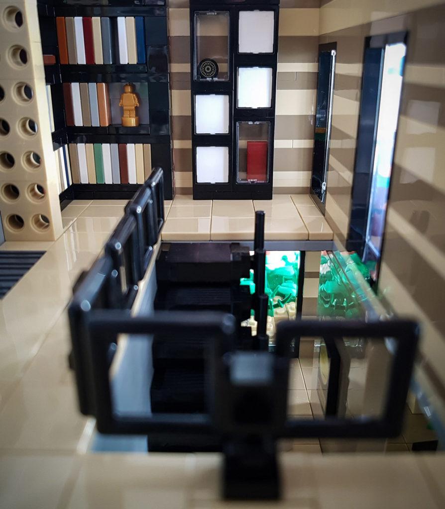 The Lego Daisy Hill House Landing