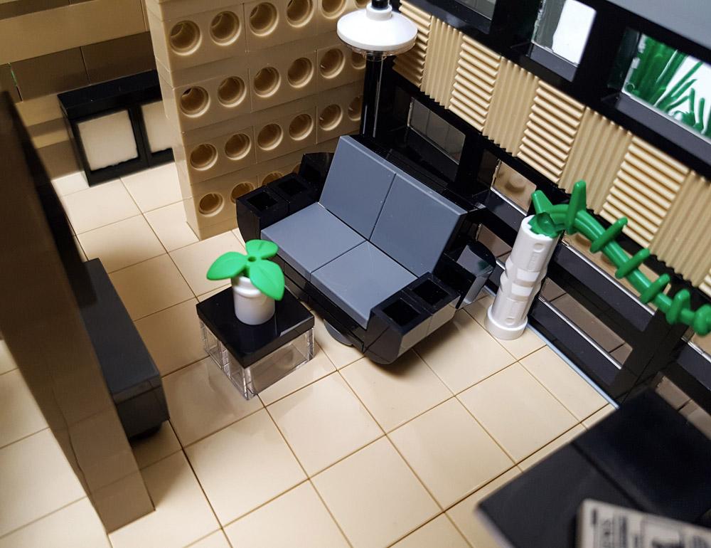The Lego Daisy Hill House Sofa