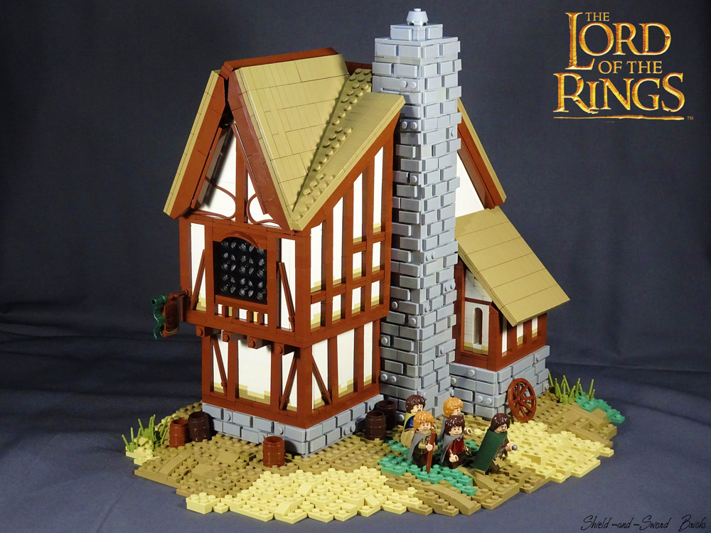 The Prancing Pony - A Lego LOTR MOC
