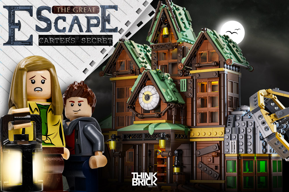 Carter's Secret. A Lego Great Escape Game.