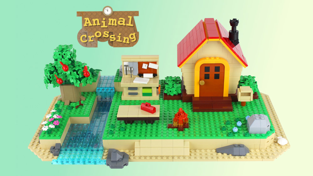 Animal Crossing New Horizons House Lego MOC