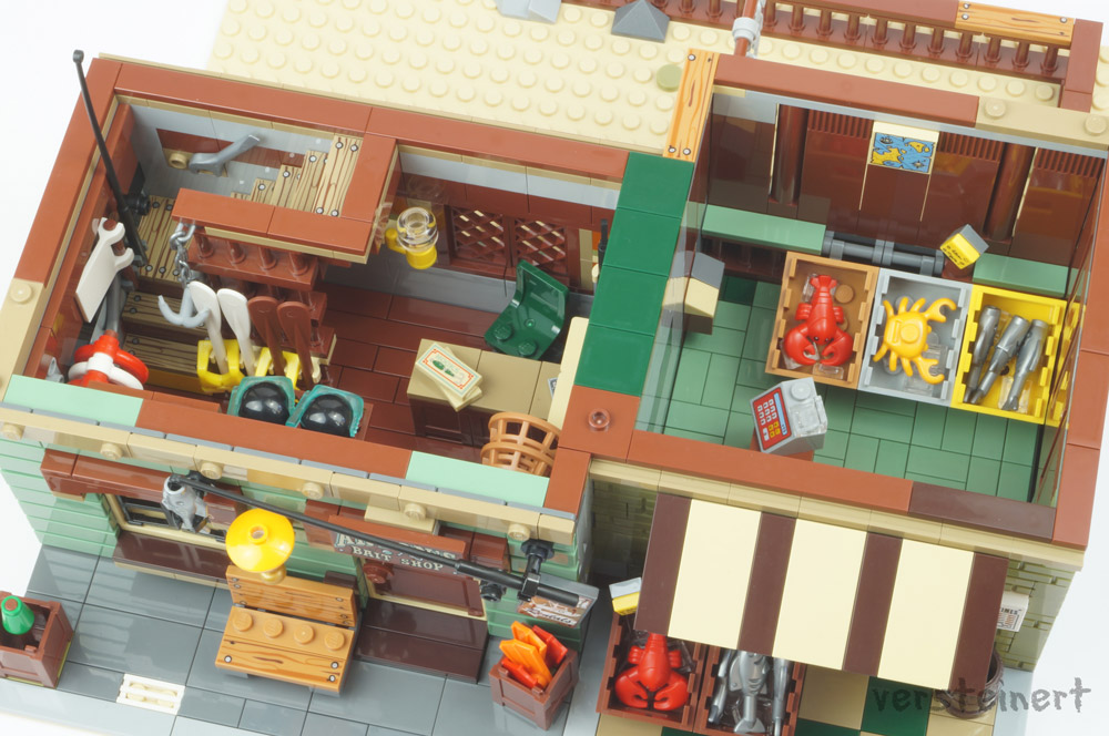 The Modular Bait Shop And Grocery Interior