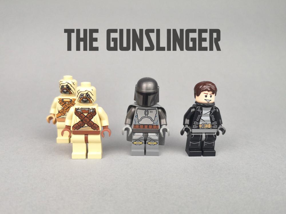 Chapter 5: The Gunslinger, A Lego Mandalorian MOC Minifigures