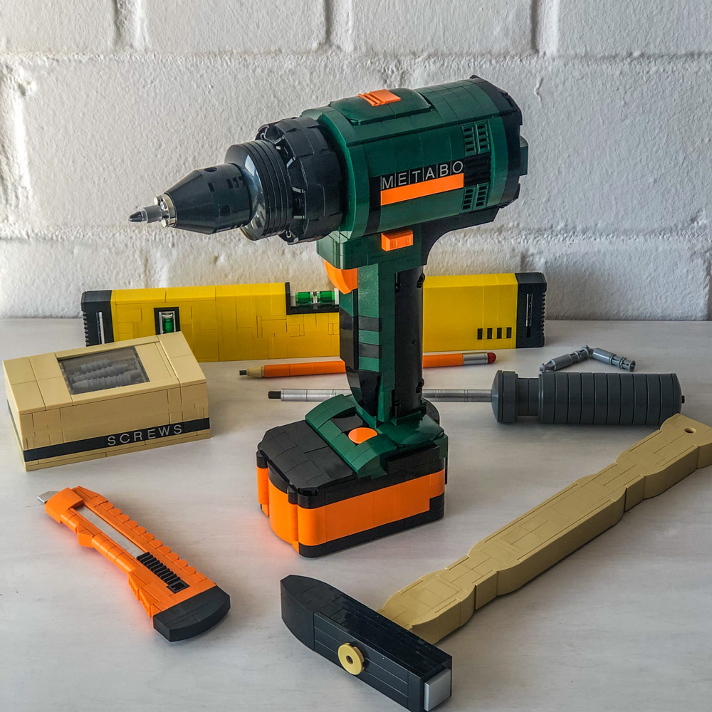 Get To Works With These Lego Power Tools