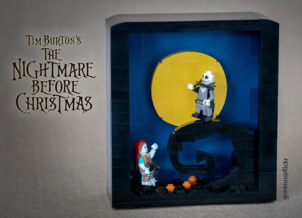The Nightmare Before Christmas - A Lego Diorama