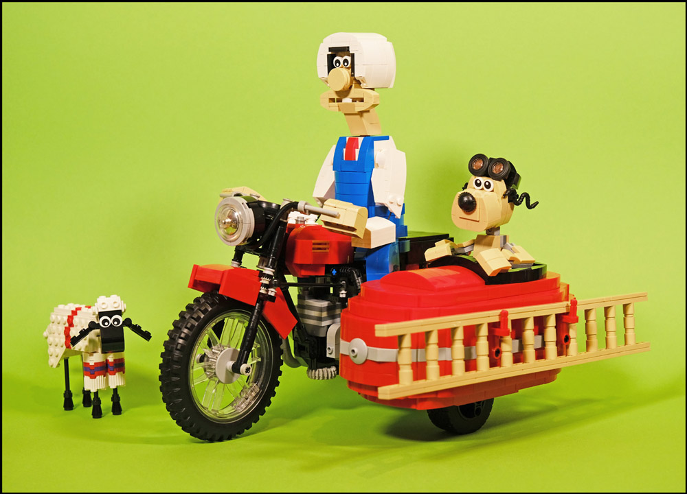 A Close Shave With Shaun, Wallace & Gromit, Lego MOC