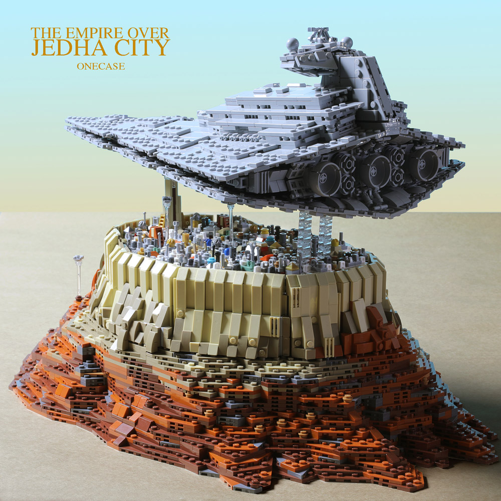 The Empire Has Occupied Jedha City - Lego Star Wars MOC