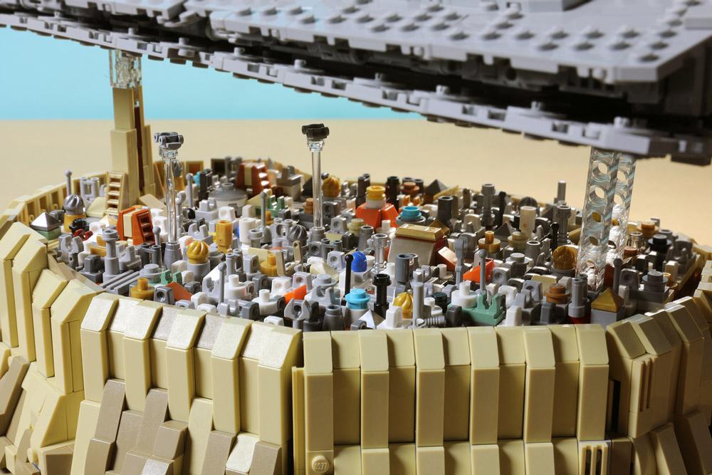 Jedha City - Lego Star Wars MOC