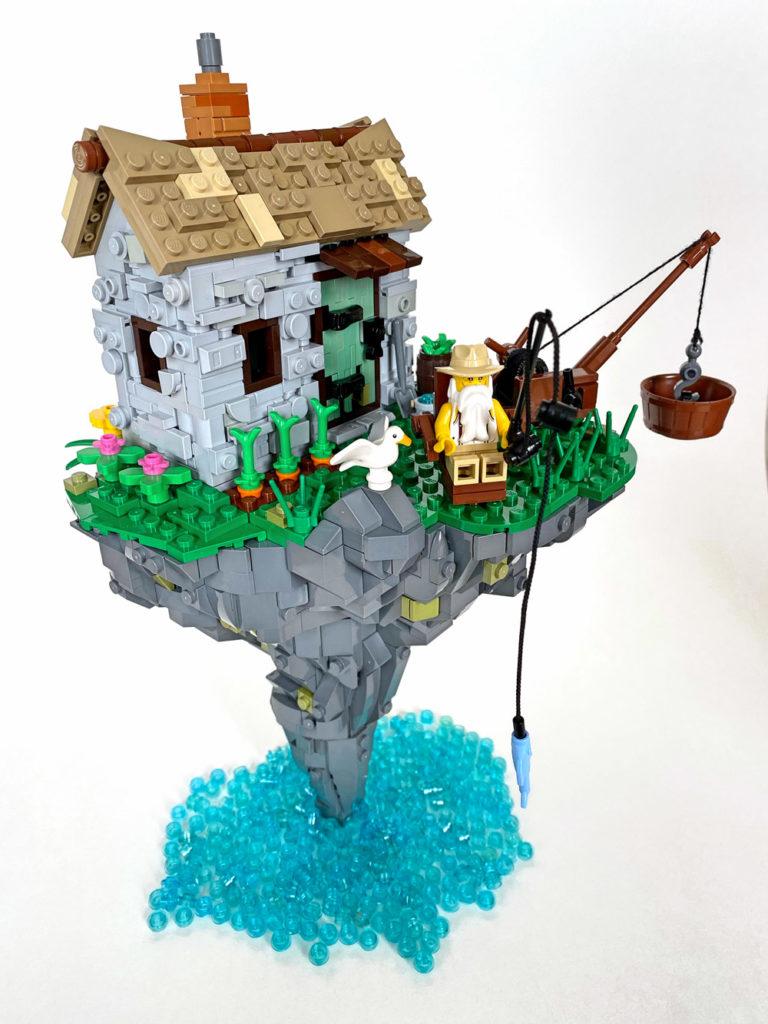 Harold's Hazardous Hermitage - Lego MOC