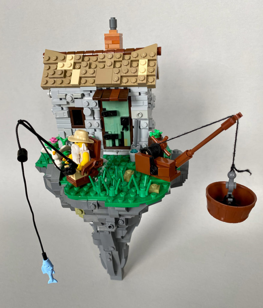 Harold's Hazardous Hermitage - Lego MOC - Version Two