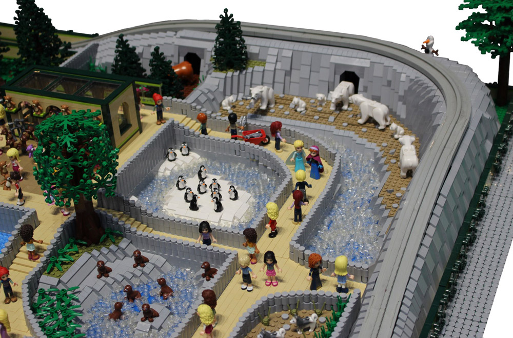 Lego Friends Zoo MOC, Detail