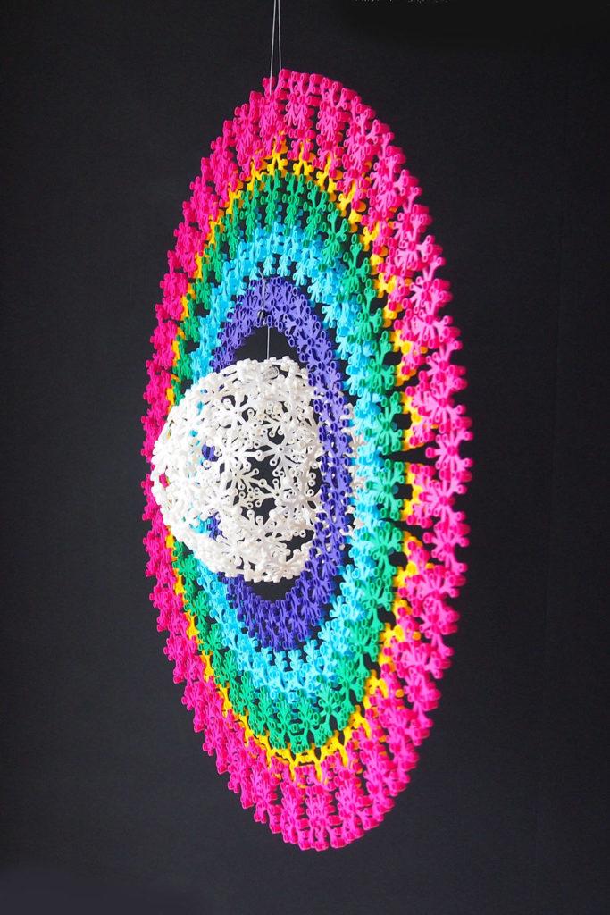 A Circular Rainbow Lego MOC