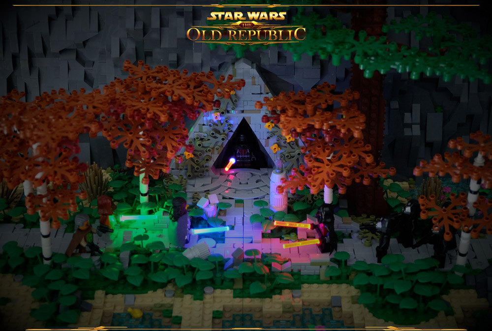 Ambush At The Sith Temple - The Old Republic Lego