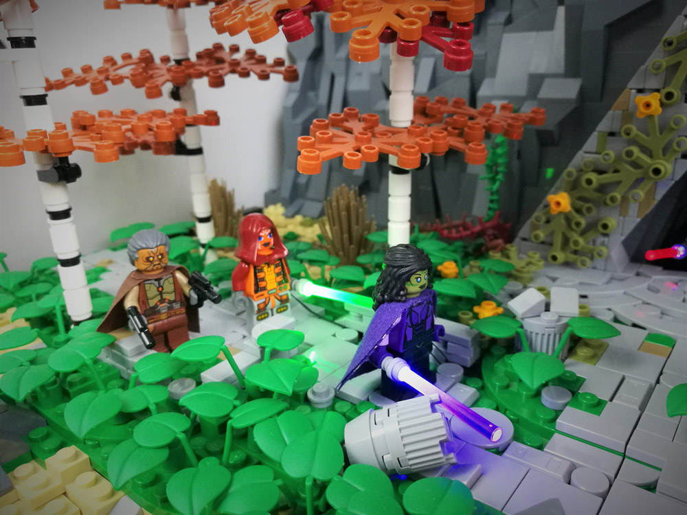 Ambush At The Sith Temple - The Old Republic Lego Details