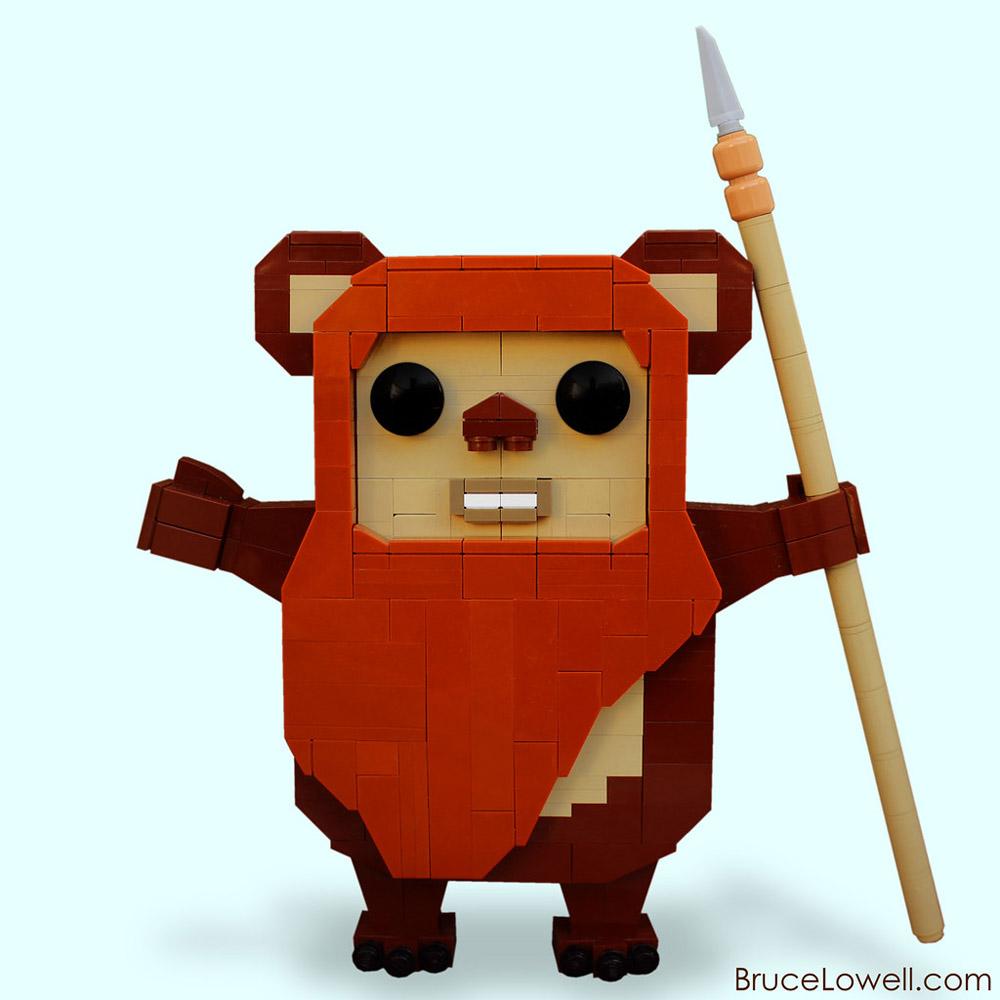 Wicket The Ewok Just Wants A Hug, Lego Star Wars
