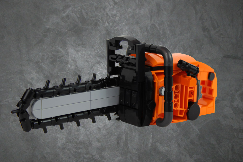 A Deadly Lego Chainsaw Build
