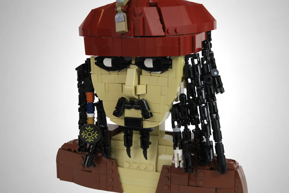 Where's the Rum? — A Lego Jack Sparrow