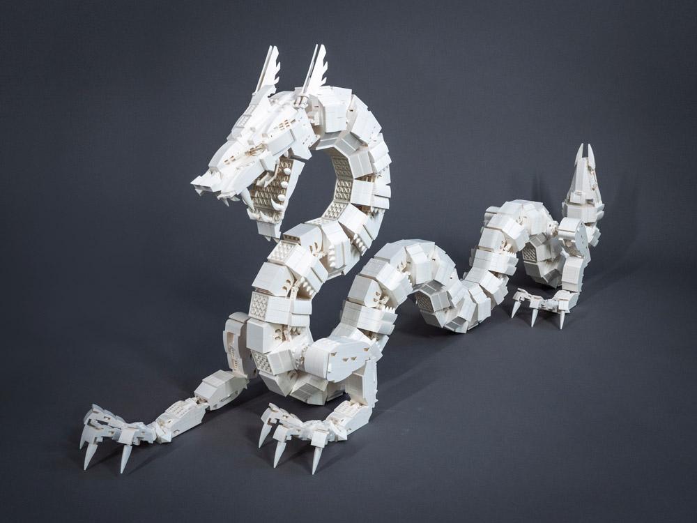 The Lego Ultra Mecha Dragon