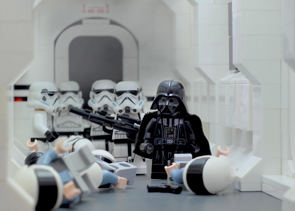 Darth Vader Hallway Battle - Lego Star Wars