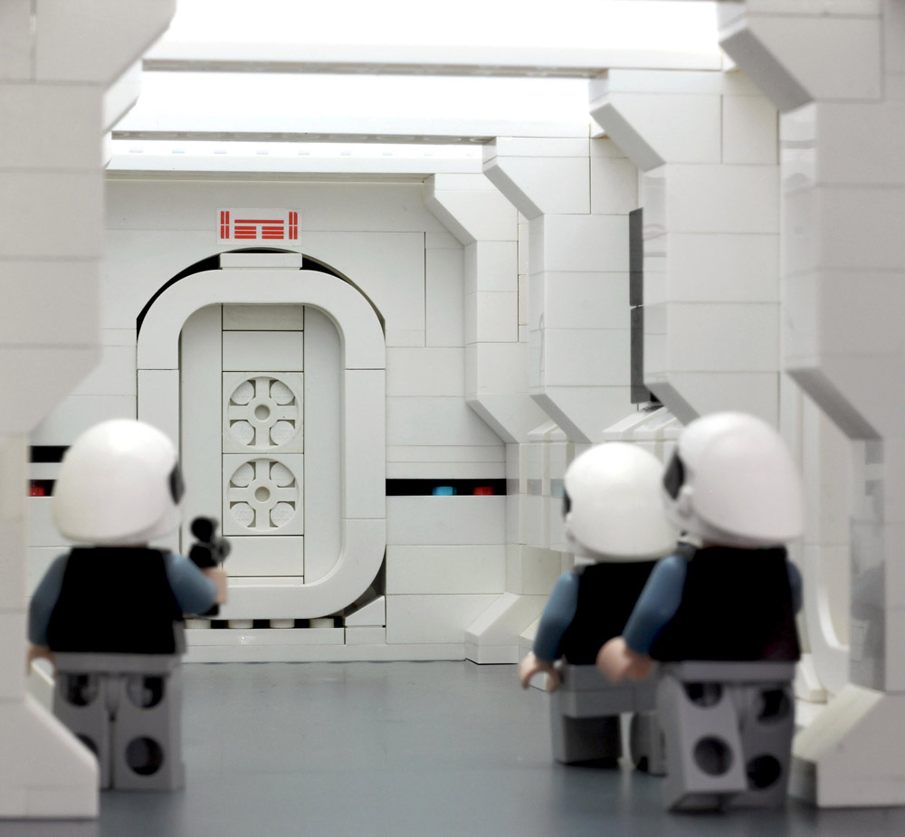 Darth Vader Hallway Battle - Lego Star Wars, Ready For Action