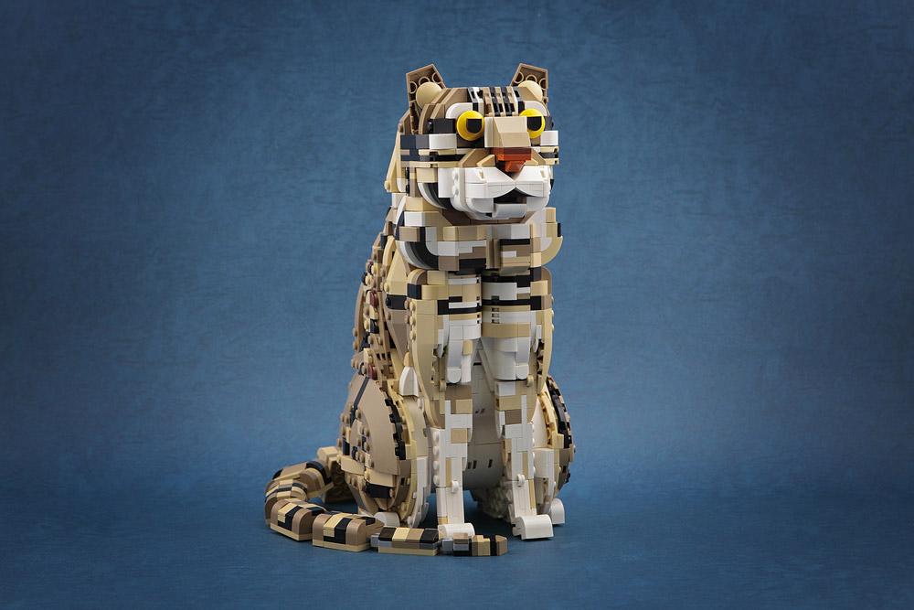 The Wild Leopard Cat Lego MOC