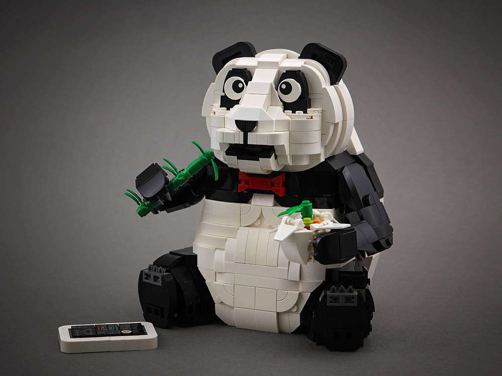This Urban Panda Knows Some Tricks, Lego MOC