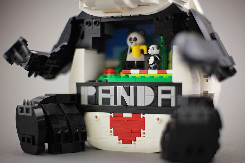 This Urban Panda Knows Some Tricks, Lego MOC Secret