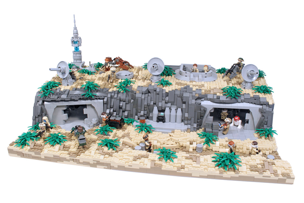 Stay Underground In This Lego Star Wars Rebel Base