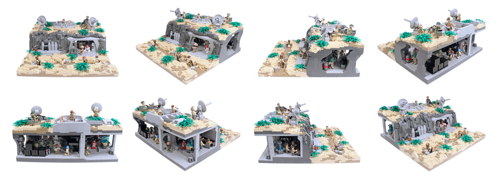 Stay Underground In This Lego Star Wars Rebel Base Details