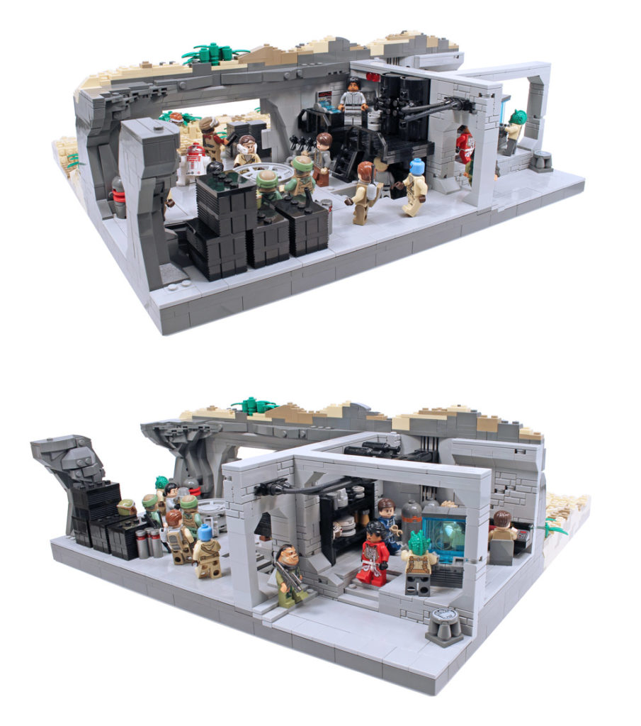 Stay Underground In This Lego Star Wars Rebel Base Inside