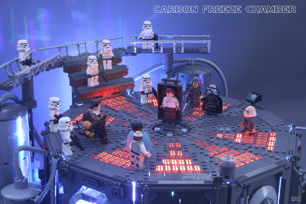 The Carbon Freeze Chamber – Lego Star Wars