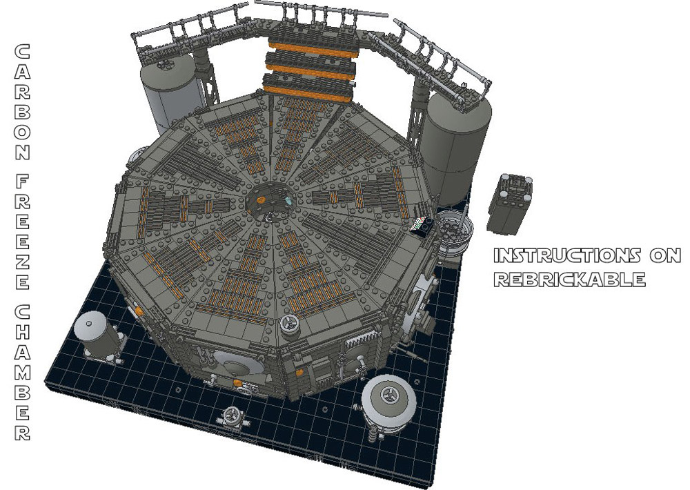 The Carbon Freeze Chamber – Star Wars - Lego Instructions