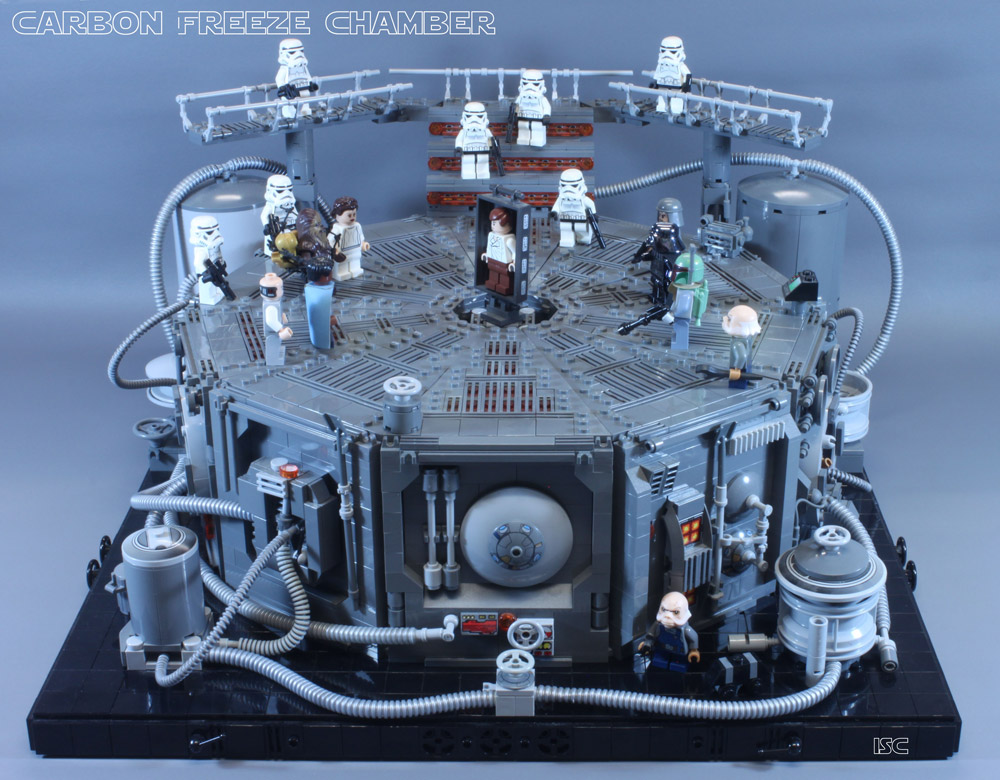 The Carbon Freeze Chamber – Lego Star Wars - With Lights