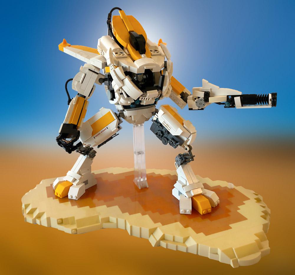 The Sandstorm IV —A Lego Mech