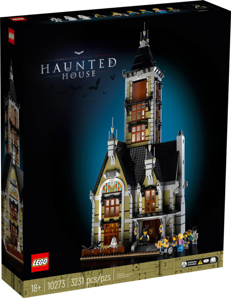 The Manor  Von  Barron, A New Lego Haunted House (10273) Box