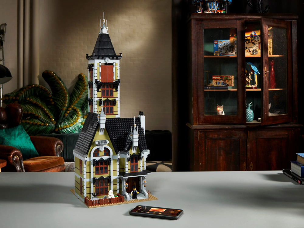 The Manor  Von  Barron, A New Lego Haunted House (10273) Closed