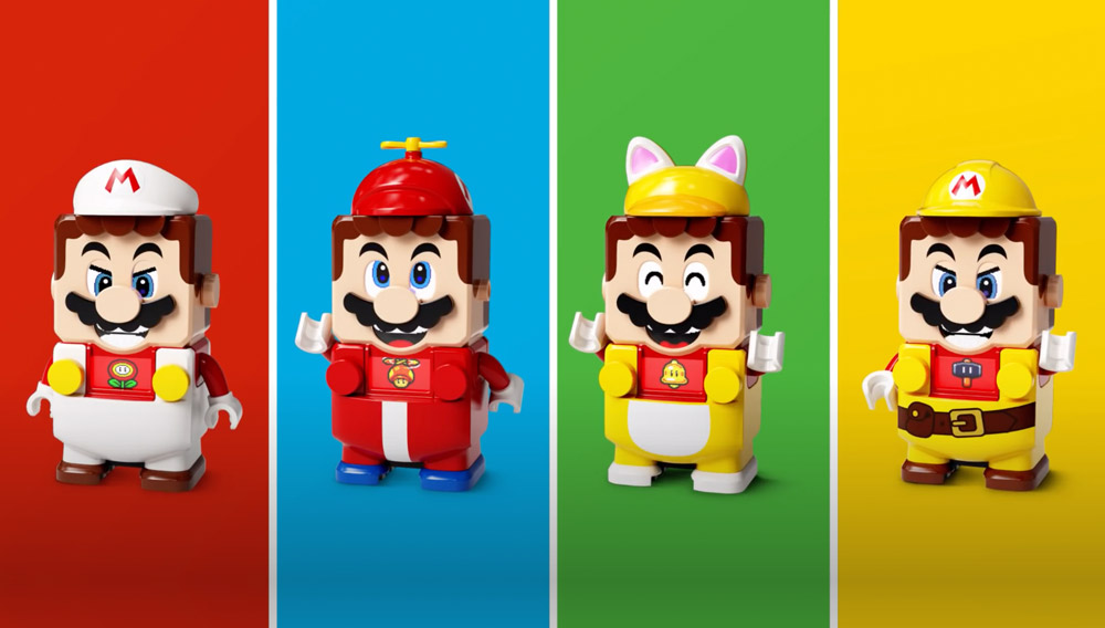 Super Mario Lego Gets Some Power Ups!