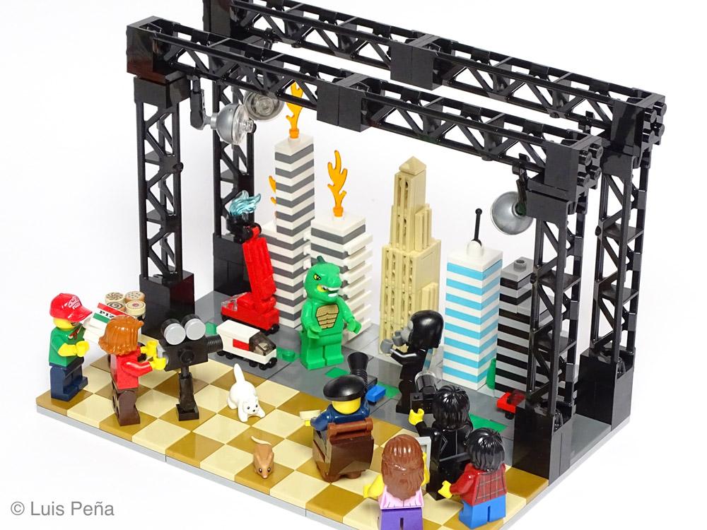 Filming King Kong vs. Godzilla, Lego MOC