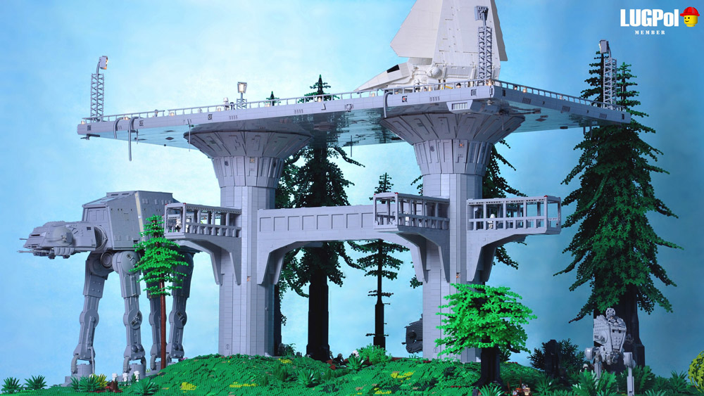 An Epic Imperial Outpost On Endor — Lego Star Wars
