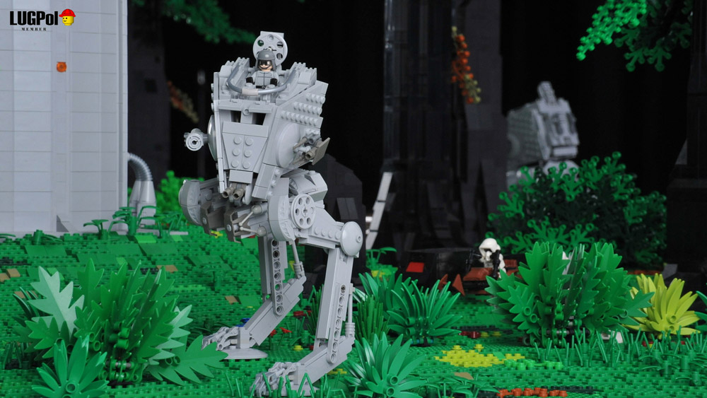 An Epic Imperial Outpost On Endor — Lego Star Wars — AT-ST