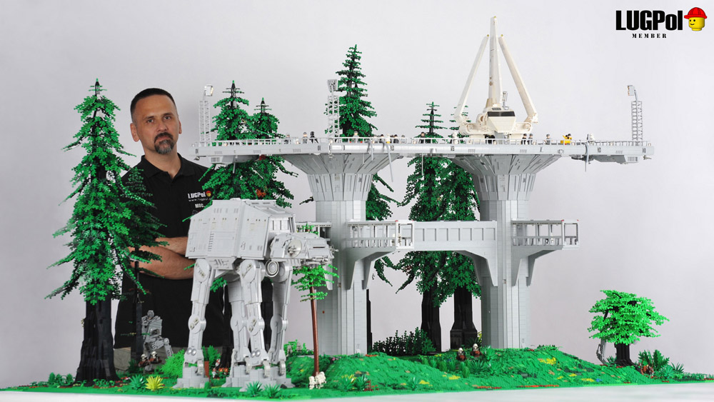 An Epic Imperial Outpost On Endor — Lego Star Wars — Designer