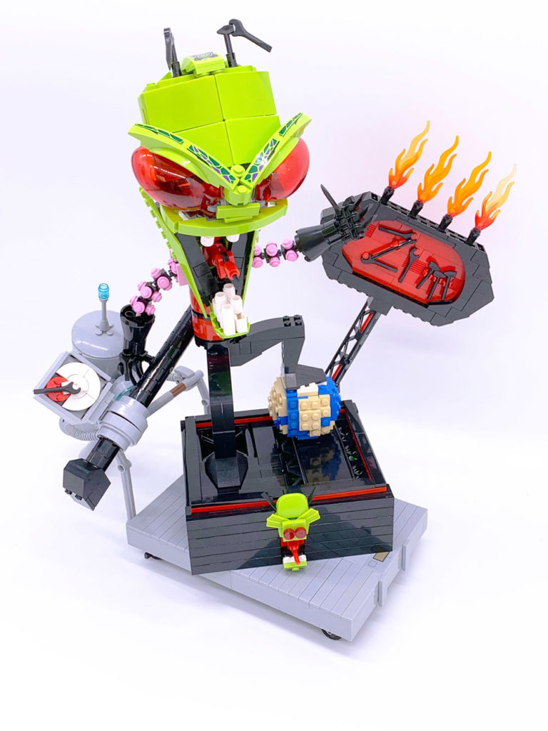 Stupid Lego Invader Zim MOC