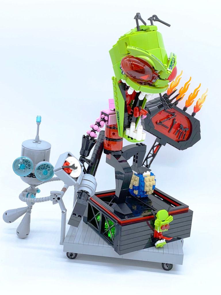 Stupid Lego Invader Zim