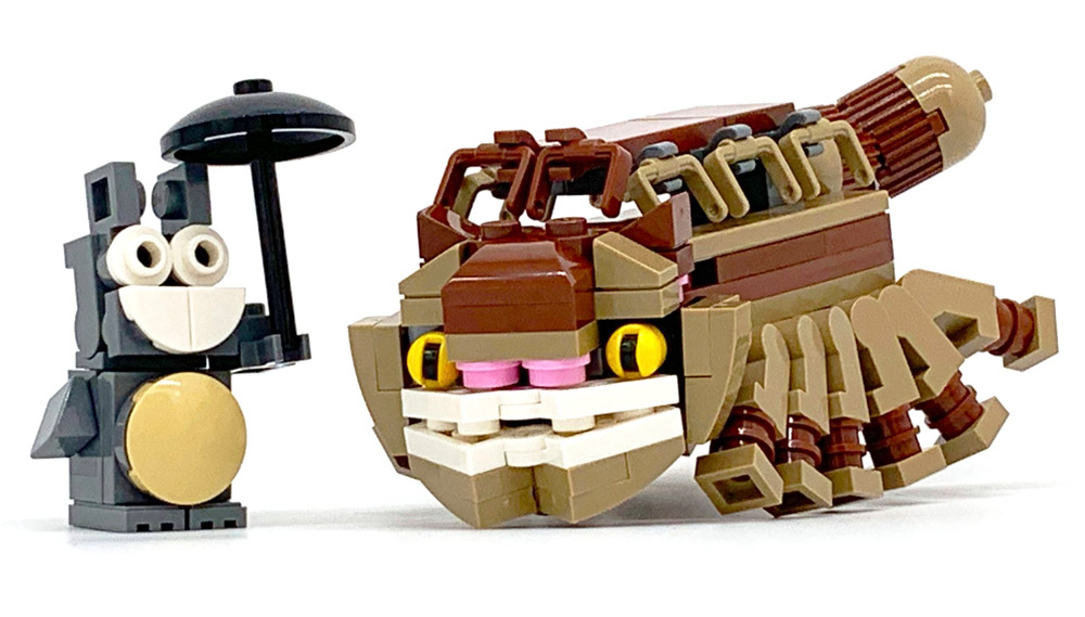 A Lego Totoro And Catbus!