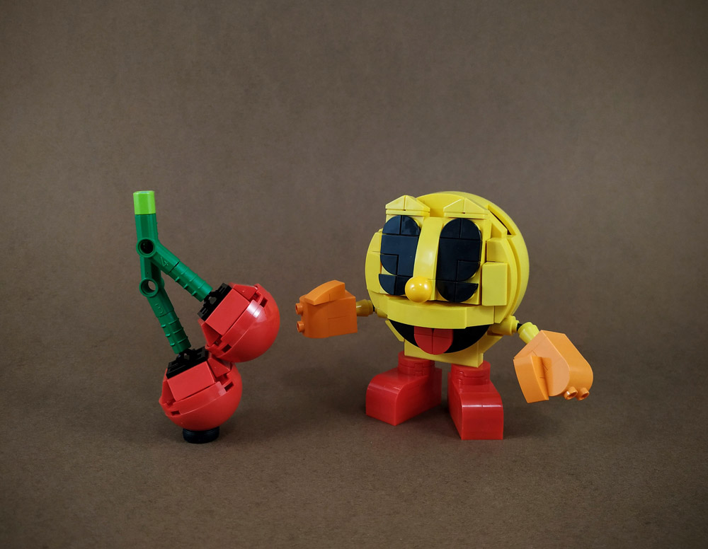 Pac-Man Is 40 Years Young, Lego Pac-Man